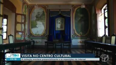 Visitação no Centro Cultural João Fona é liberada em Santarém - Exposição também estão ocorrendo de forma virtual.