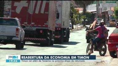 Timon (MA) vai além de Teresina na próxima de reabertura da economia - Timon (MA) vai além de Teresina na próxima de reabertura da economia