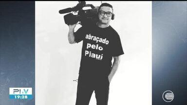 Cinegrafista Bob Júnior morre vítima de Covid-19 em Teresina - Cinegrafista Bob Júnior morre vítima de Covid-19 em Teresina