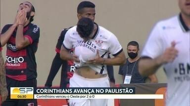 Corinthians se classifica no Paulistão - Time foi ajudado pela vitória do São Paulo sobre o Guarani.