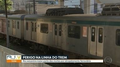Região Metropolitana do Rio concentra a maioria dos atropelamentos ferroviários do Brasil - A maior parte das vítimas é negra. Um terço das mortes acontece dentro da estação.