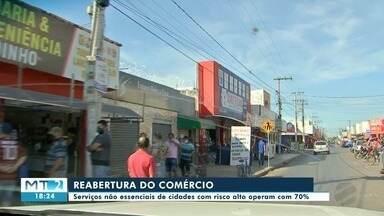 Entidades que representam lojistas avaliam reabertura do comércio na Grande Cuiabá - Entidades que representam lojistas avaliam reabertura do comércio na Grande Cuiabá.