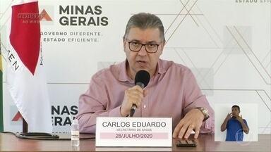 Governo de Minas diz que regressão da epidemia está próxima - O anúncio foi feito no dia em que Minas Gerais teve o segundo maior número de mortes por Covid-19.