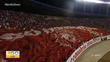 Goiás e Atlético disputam série A do Brasileirão, em Goiânia - Confira a preparação dos times.