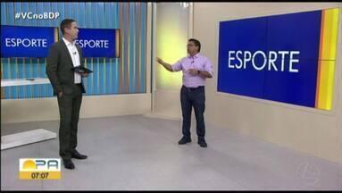 Carlos Ferreira comenta os destaques do esporte paraense nesta quinta-feira (30) - Carlos Ferreira comenta os destaques do esporte paraense nesta quinta-feira (30)