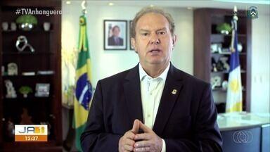 Governador do TO grava vídeo pedindo apoio dos jovens nos cuidados durante a pandemia - Governador do TO grava vídeo pedindo apoio dos jovens nos cuidados durante a pandemia