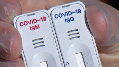 Laboratórios do Alto Tietê têm aumento na procura por testes para a Covid-19 - Para atender à demanda com segurança, a coleta pode ser em unidades próprias para os testes, em casa ou pelo sistema drive-thru.