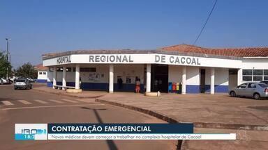 Governo de Rondônia contrata cinco médicos para o Hospital de Cacoal - Profissionais farão atendimento a pessoas com Covid-19