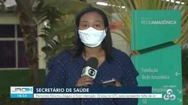 Veja atualização do estado de saúde do secretário Fernando Máximo - Secretário chegou a passar 10 dias internado na UTI com Covid-19