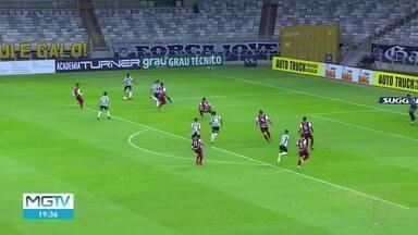 Veja os gols do Campeonato Mineiro - Atlético Mineiro vencei Patrocinense por 4 a 0.