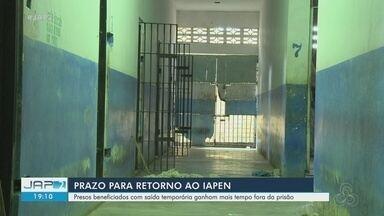 Presos beneficiados com saída temporária na pandemia devem retornar até agosto para Iapen - Presos beneficiados com saída temporária na pandemia devem retornar até agosto para Iapen