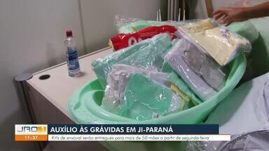 Auxílio às Grávidas em Ji-Paraná - Kit's de enxoval serão entregues para mais de 50 mães a partir de segunda-feira.