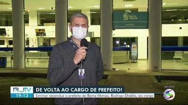 Rodrigo Drable volta ao cargo de prefeito de Barra Mansa após liminar do STF - Documento, assinada pelo Ministro Dias Toffoli, suspendeu os efeitos da decisão que tinha determinado o afastamento do prefeito.
