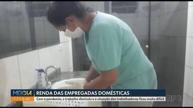 Pandemia faz renda de domésticas e diaristas diminuir drasticamente - O trabalho diminuiu e a situação das trabalhadoras ficou muito difícil