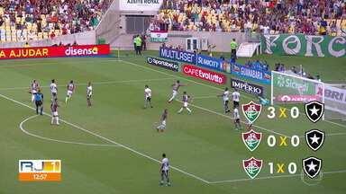 Botafogo e Fluminense jogam o quarto clássico vovô do ano - Botafogo e Fluminense jogam o quarto clássico vovô do ano