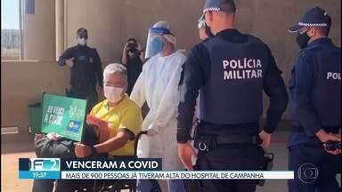 Mais de 900 pacientes já receberam alta no Hospital de Campanha - Ontem (31/07), 13 pessoas voltaram para casa recuperadas da COVID-19.Veja as últimas notícias desta edição.