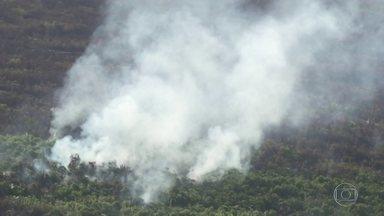 Número de queimadas na Amazônia aumentou 30% em julho - Dados são do Instituto Nacional de Pesquisas Espaciais e são comparados com o mesmo período do ano passado. A tendência em agosto é de piora, segundo o instituto.
