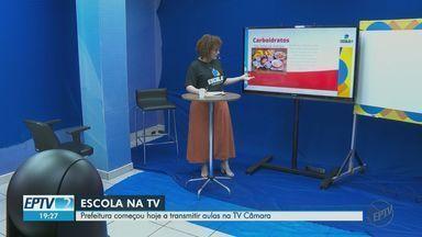 Prefeitura de Ribeirão Preto, SP, começa a transmitir aulas na TV aberta - Sinal da TV Câmara pode ser sintonizado no canal digital 31.4.