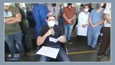 Médico de São Sebastião do Paraíso (MG) se recupera de Covid-19 - Médico de São Sebastião do Paraíso (MG) se recupera de Covid-19