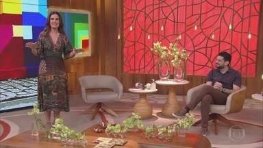 Programa de 04/08/2020 - A apresentadora Fátima Bernardes comanda o programa que mistura comportamento, prestação de serviço, informação, música, entretenimento e muita diversão.