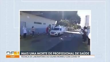 Técnica de laboratório do Guará morreu vítima da covid-19 - Tânia Cristina trabalhava no laboratório regional do Guará desde 2013. De acordo com o sindicato da categoria, essa já é a terceira morte de técnico de laboratório no DF.