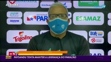 Paysandu enfrenta o Itupiranga para manter a liderança do Parazão 2020 - Paysandu enfrenta o Itupiranga para manter a liderança do Parazão 2020