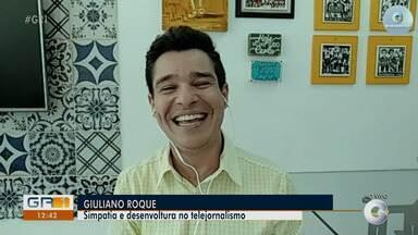 Giuliano Roque relembra trabalho na TV Grande Rio - Jornalista passou três temporadas na empresa