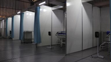 Moradores de Biritiba Mirim reclamam da estrutura de unidade para Covid-19 - Posto de atendimento e isolamento para atendimento de casos suspeitos de Covid-19, já atendeu mais de 500 pacientes, segundo a Prefeitura.