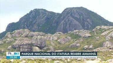 Parque Nacional do Itatiaia é parcialmente reaberto para visitas nesta quarta-feira - Reabertura segue protocolo de medidas de segurança para prevenir o contágio do novo coronavírus.