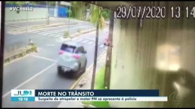 Motorista que atropelou e matou cabo da PM em Ananindeua se apresenta à Polícia - Caso foi registrado na av. Hélio Gueiros, no bairro 40 Horas.