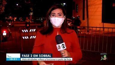 Sobral passa para fase 2 de retomada da economia - Saiba mais em: g1.com.br