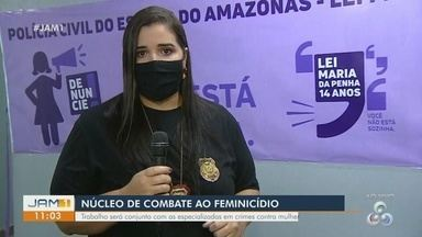 Núcleo de combate ao femincídio é inaugurado em Manaus - Trabalho será feito em conjunto com as delegacias especializadas em crimes contra a mulher.