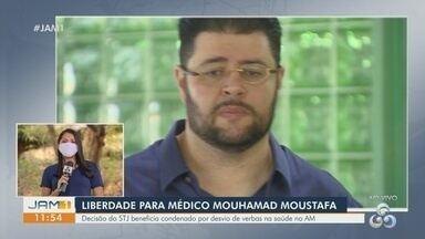 Médico Mouhamad Moustafa, condenado por desvio de verbas na Saúde, pode deixar cadeia - Soltura ocorre após uma nova decisão do Superior Tribunal de Justiça (STJ).