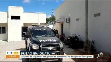 Suspeito de sequestras três crianças é preso em Iguatu - Saiba mais em g1.com.br/ce