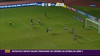 Botafogo-PB vive momento turbulento dentro de campo e em seus bastidores - Time sofreu baixas na diretoria e no comando técnico após a derrota para o Treze