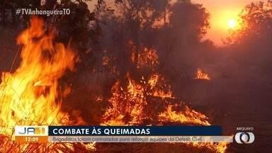 Brigadistas são contratados para reforçar o combate a incêndios - Brigadistas são contratados para reforçar o combate a incêndios