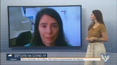 Médica Flávia Machado fala sobre cenário da Covid-19 e gestão de hospitais - Profissional analisa a decisão de desativar hospitais de campanha e fala sobre cenário do coronavírus.