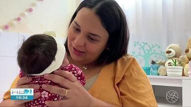 """Reportagem fala sobre importância do aleitamento materno e a doação de leite humano - Esse mês é conhecido como """"Agosto Dourado""""."""