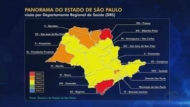 Regiões de Itapetininga e Avaré avançam para a fase amarela do Plano SP - As regiões de Itapetininga e Avaré (SP) avançaram para a fase 3, a amarela, do Plano São Paulo de flexibilização da economia. O anúncio foi feito pelo governo estadual durante uma coletiva de imprensa realizada no início da tarde desta sexta-feira (7).