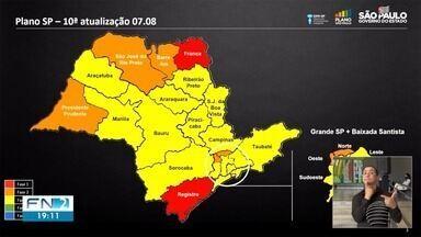 Municípios da Nova Alta Paulista avançam para a fase amarela do Plano SP - Cidades do DRS de Presidente Prudente permanecem estagnadas na fase laranja.