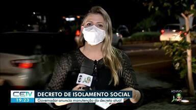 Governador diz que vai manter macrorregiões de saúde nas atuais fases - Saiba mais em g1.com.br/ce