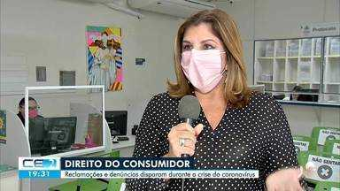 Reclamações de consumidores disparam durante pandemia - Saiba mais em g1.com.br/ce