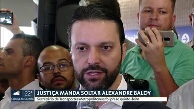 Justiça determina soltura de Alexandre Baldy - Liminar foi concedida pelo ministro Gilmar Mendes do STF. O secretário estadual de Transportes Metropolitanos estava preso desde quinta-feira (06)