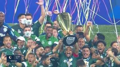 Palmeiras vence o Corinthians e conquista o Paulistão após 12 anos - Palmeiras vence o Corinthians e conquista o Paulistão após 12 anos