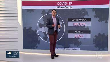 Acompanhe os dados da pandemia em Minas Gerais - Minas Gerais já ultrapassou 155 mil casos.