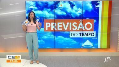 Confira a previsão do tempo no Ceará com Camila Marcelo - Saiba mais no g1.com.br/ce