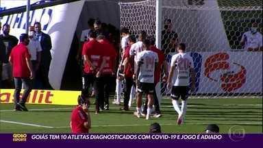 Covid-19 adia a estreia do São Paulo no Brasileirão, contra o Goiás - Covid-19 adia a estreia do São Paulo no Brasileirão, contra o Goiás