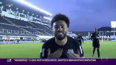 Veja os gols da primeira rodada do Campeonato Brasileiro - Sem Cebolinha, Grêmio vence Fluminense com gol de Diego Souza. Santos e Bragantino empatam. Internacional, Athletico-PR e Sport estreiam com vitória.