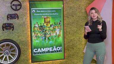Palmeiras campeão Paulista após 12 anos: veja momentos da conquista - Equipe de Vanderlei Luxemburgo foi campeã nos pênaltis em cima do Corinthians