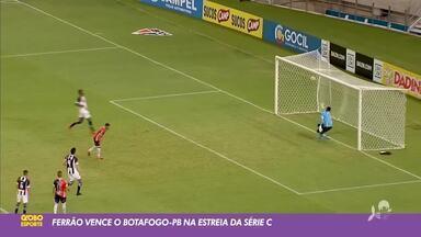 Ferroviário vence Botafogo-PB, pela Série C; confira gols - Saiba mais no ge.globo/ce
